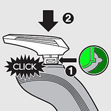 Click on trimmer