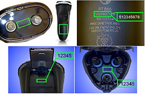 Where is the model/serial number on my Philips shaver? | Norelco