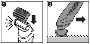 Philips Epilator trimming head