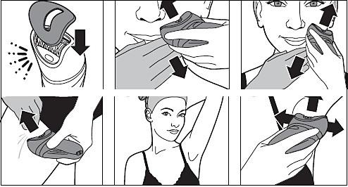Adaptador para zonas delicadas de la depiladora Philips
