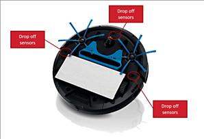 Odkurzacz automatyczny Philips — czujniki