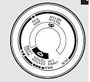 Pokrętło regulatora temperatury