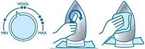 Nettoyage de la semelle