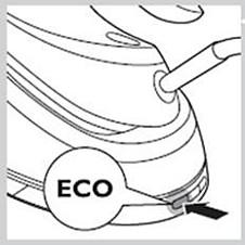 ECO mode button