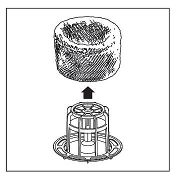 Filtro di umidificazione nell'umidificatore Philips