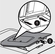 Máquina de hacer pasta Philips Viva: pasadores de seguridad