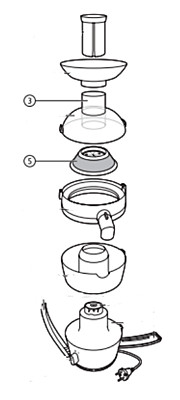 The filter of Philips Juicer