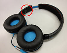 Model number on Philips headphones
