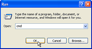 Launch Command prompt in Windows OS