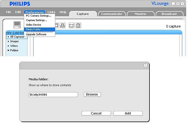 Media Folder on your PC