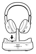 Charging of Philips headphones