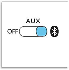 Switch on Bluetooth speaker