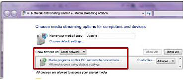 More streaming options