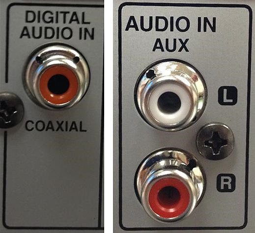 Possible Audio inputs