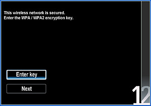 Note The Encryption Key Must Only Be Entered Once Your Tv Will Save