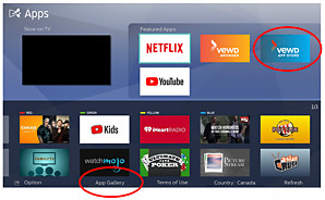 Why do I not see as many apps on my Philips TV as were advertised