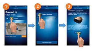 Wi-Fi configuratieschermen SmartPro-app