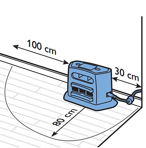 Philips SmartPro -robottipölynimurin telakointiasema