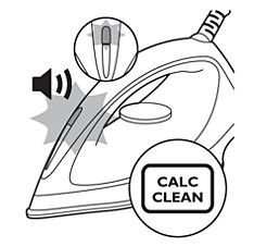 Calc Clean light — Philips steam iron