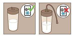 Xelsis conservazione caraffa del latte