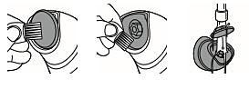 """Dulkių nuvalymas nuo """"Philips Satinelle"""" nuospaudų šalinimo disko"""