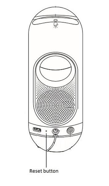 Tilbakestillingsknappen til Philips Somneo Wake-Up Light