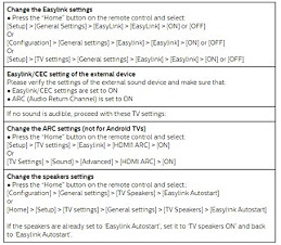 What to do if an HDMI device does not work correctly while