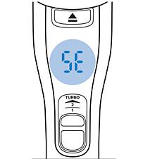 Philips SpeedPro Max-stofzuiger, foutcode SE