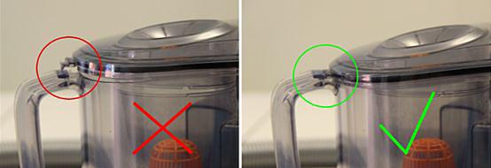 Tapa de contenedor de polvo de aspirador Philips