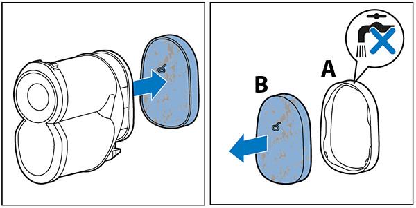 A Philips SpeedPro Max porszívó szűrőinek tisztítása