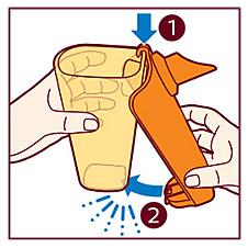 Sådan monteres Philips LatteGo-mælkeskummeren