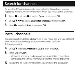 Why are some off-air channels now missing from my Philips TV