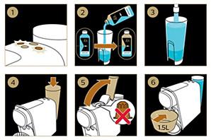 Préparer votre machine à café L'ORBarista pour le détartrage