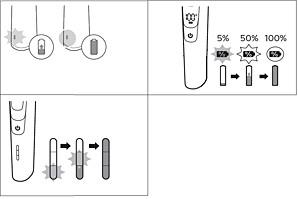 Indicaciones de carga de la afeitadora Philips