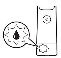 Recordatorio de aceite de la afeitadora Philips