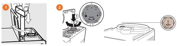 Reglarea setărilor de măcinare pentru un espressor Saeco