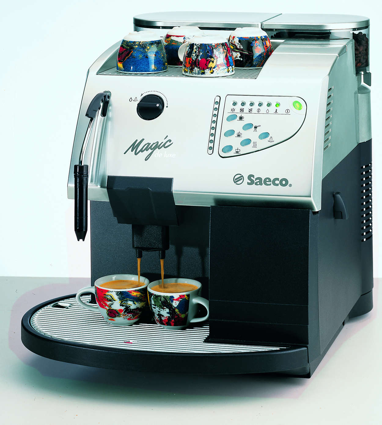 saeco magic deluxe coffee machine user manual