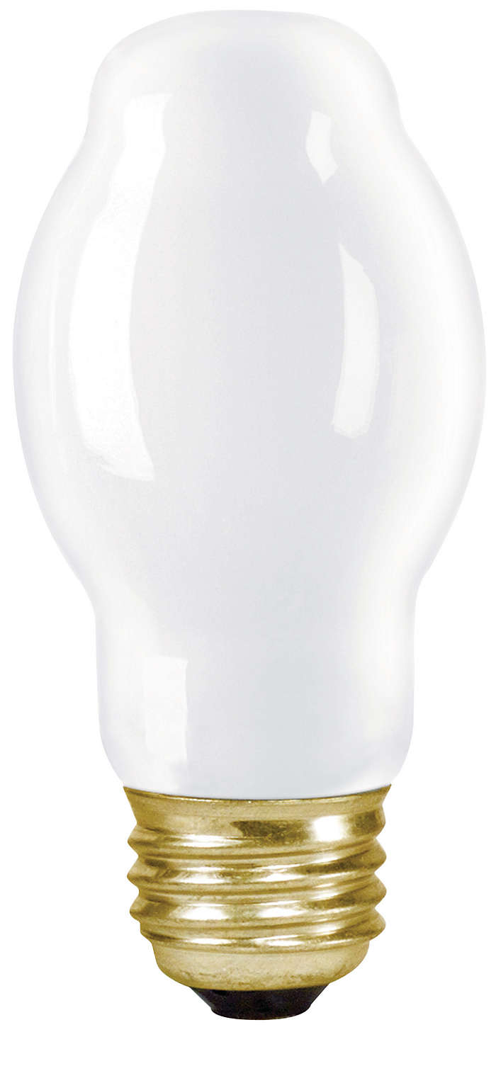 Bright white light for indoor and outdoor spaces.