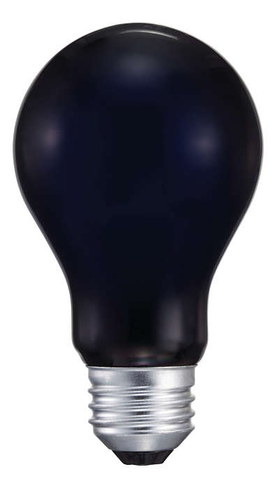 True blacklight-blue light.