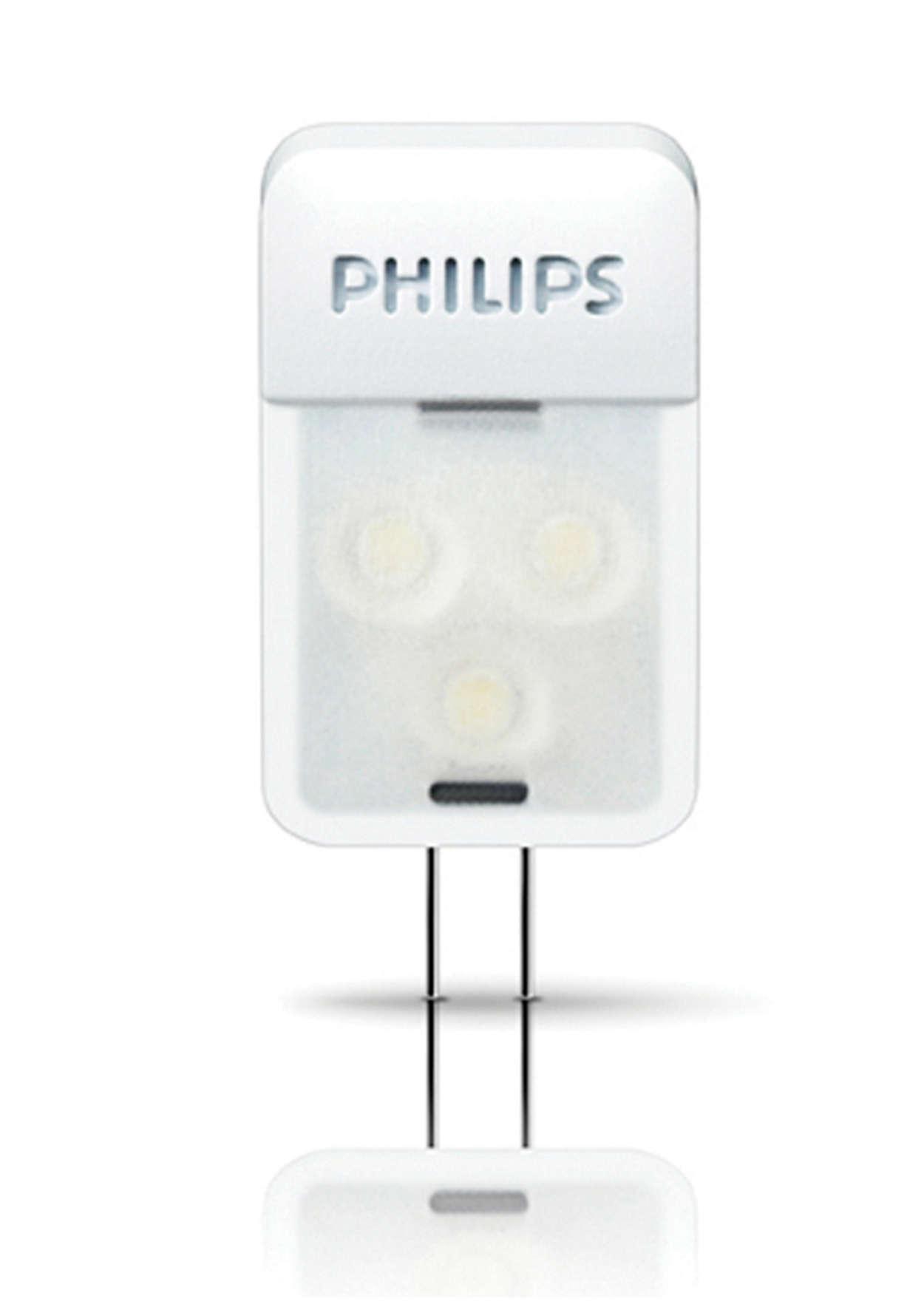 Pruebe las luces LED de blanco cálido