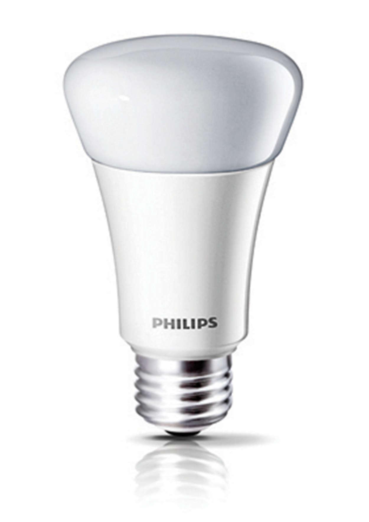 Pruebe las luces LED de blanco cálido regulables