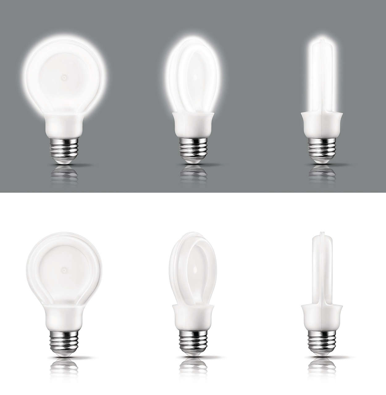 Buy SlimStyle A19 8w Soft White LED Bulb | Philips Lighting
