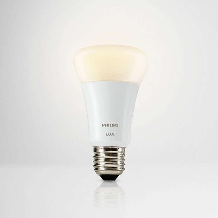 Var du än är kan du styra din belysning