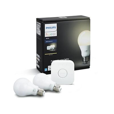 White Starter Kit E26 046677455286 Philips