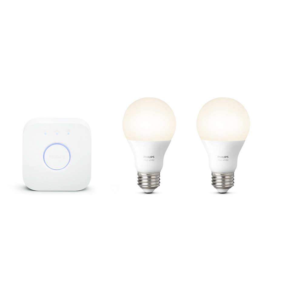 google home products hue philips lighting. Black Bedroom Furniture Sets. Home Design Ideas