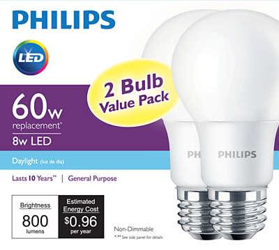 LED Bulb 046677455606   Philips for Philips Led Lights Ad  287fsj