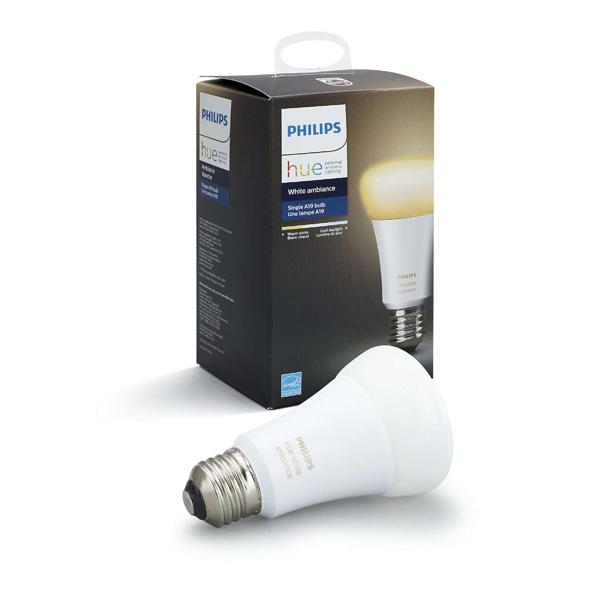 hue white ambiance single bulb e26 046677461003 philips. Black Bedroom Furniture Sets. Home Design Ideas