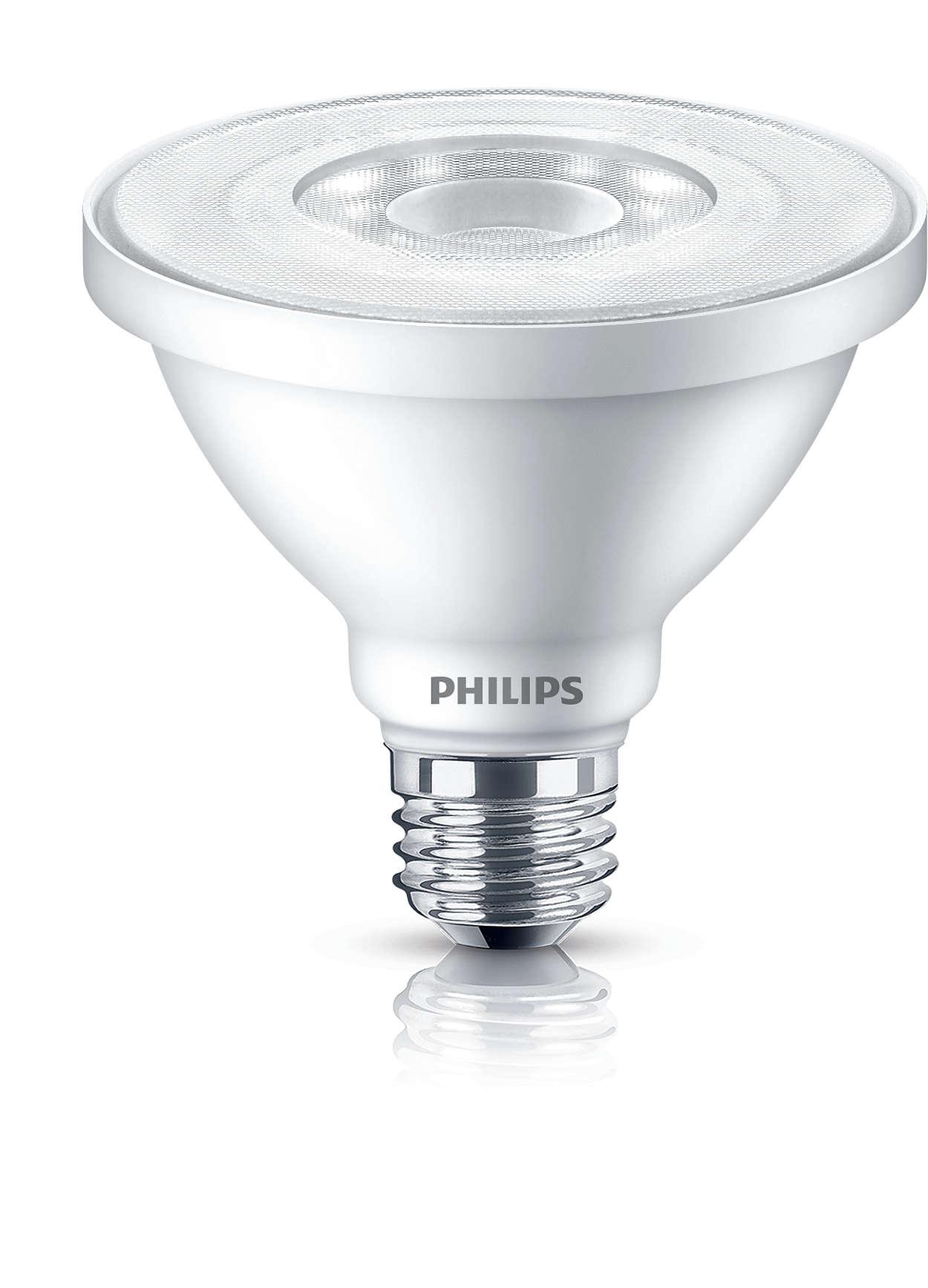 Éclairage à DEL durable à faisceau lumineux fin.