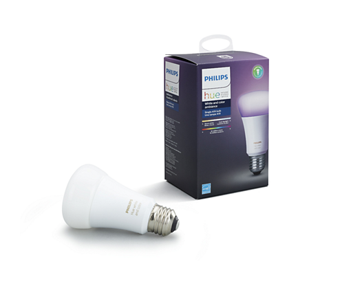 Hue White And Color Ambiance Single Bulb E26 046677464486