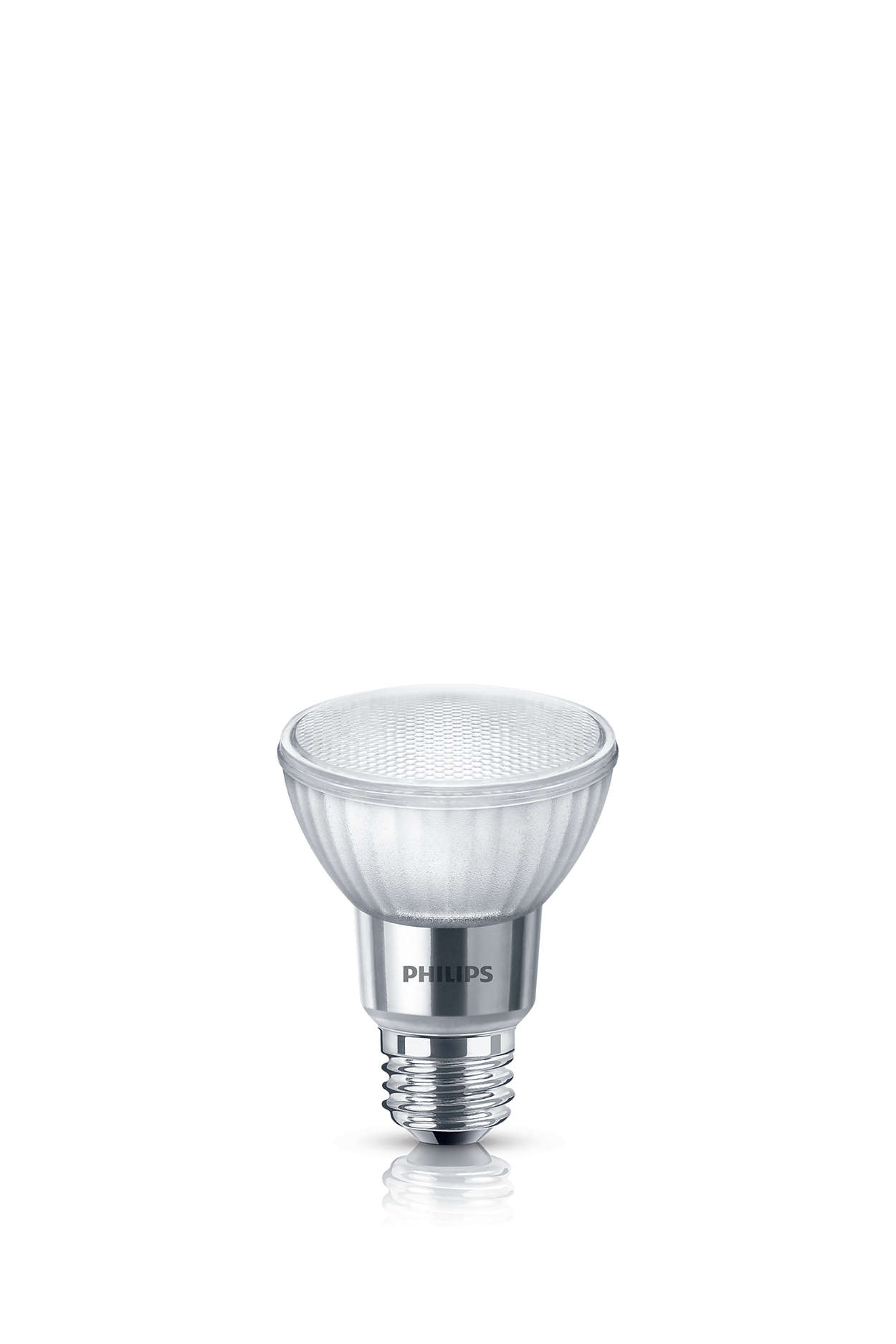 Durable LED accent lighting with a focused beam
